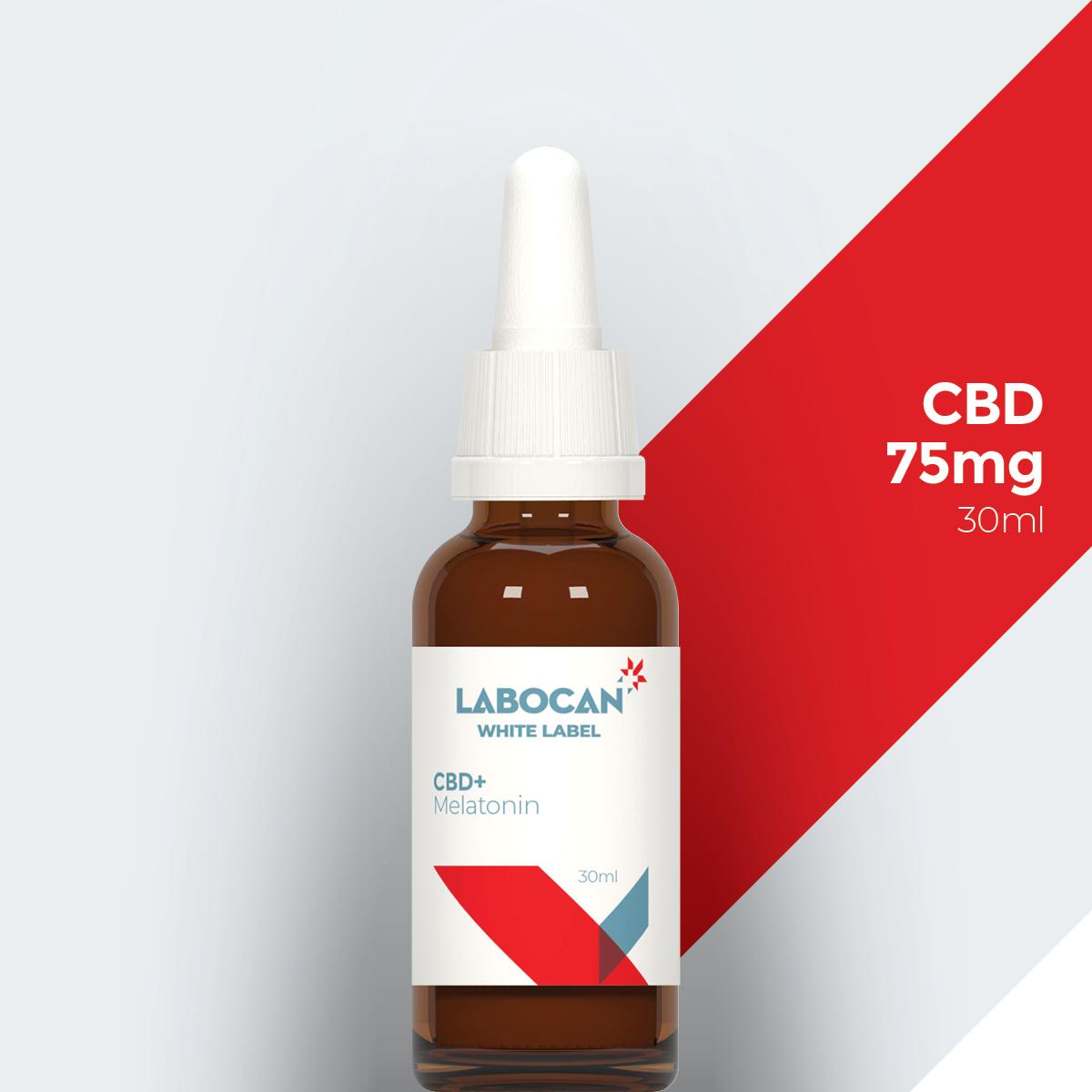 CBD de marca blanca con melatonina