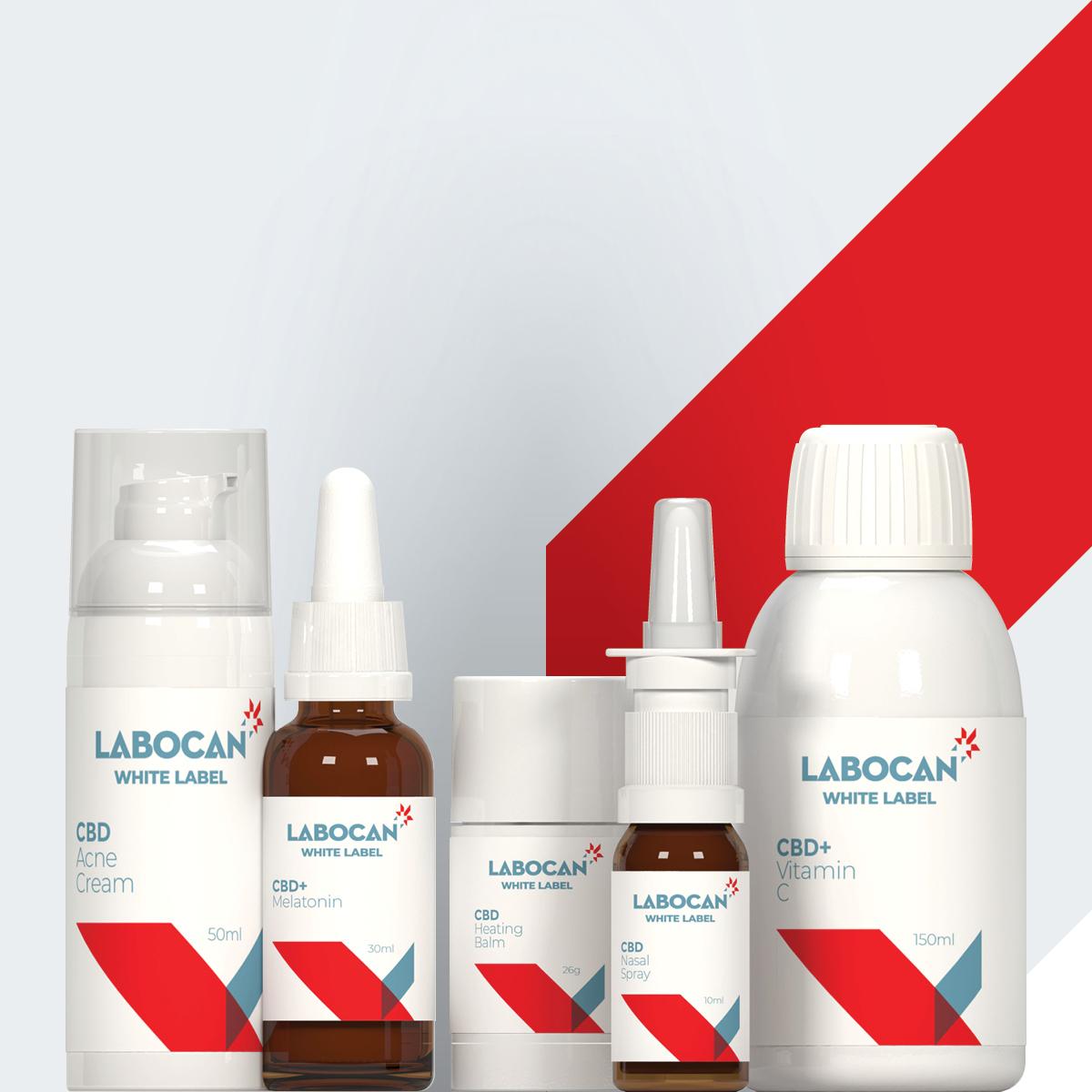 Productos de CBD marca blanca Labocan
