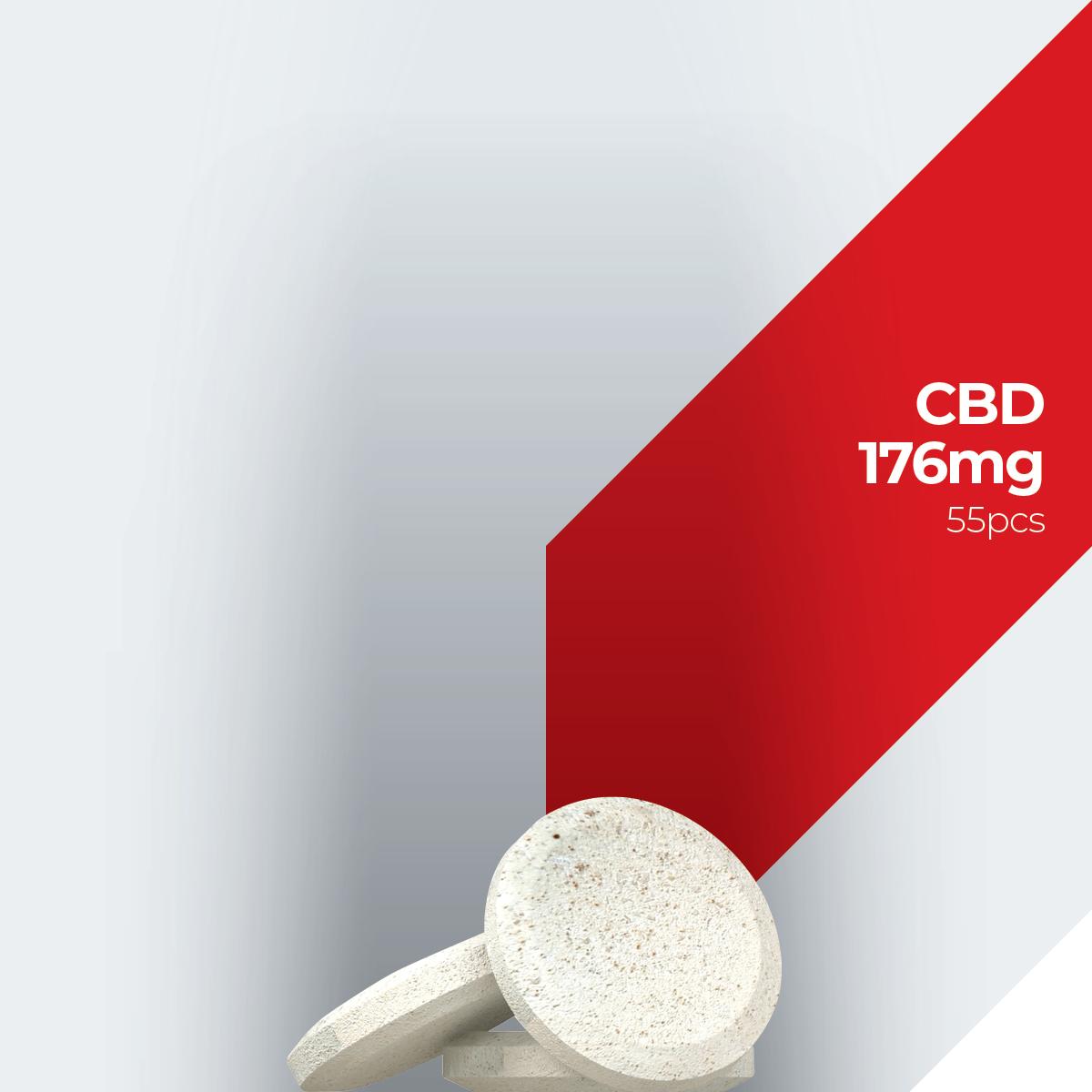 Labocan white label and private label cbd 176mg (55pcs)